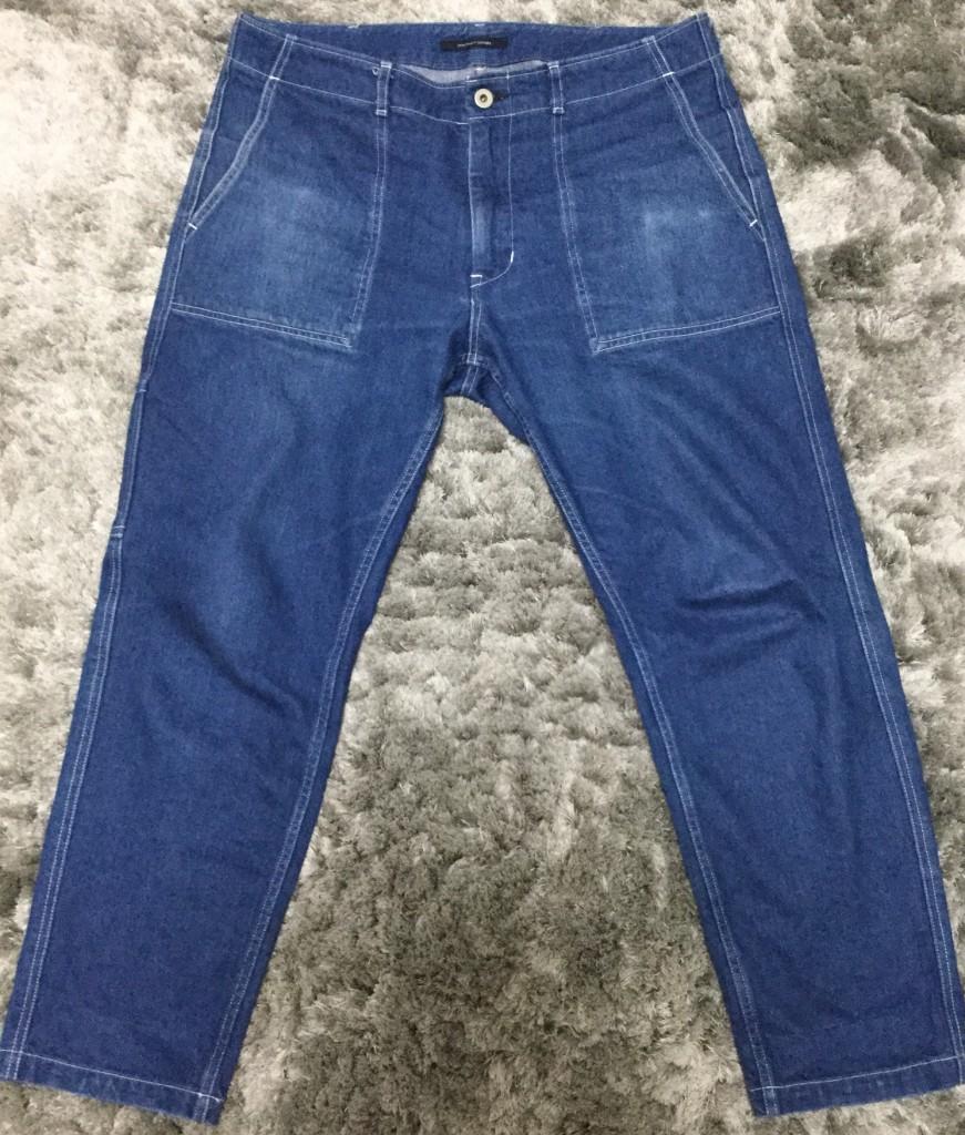 ダイロンでジーンズを染めてみた1